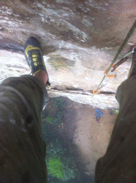 Rock Climbing Photo: Hey feet