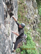 Rock Climbing Photo: Crimp to jugs.