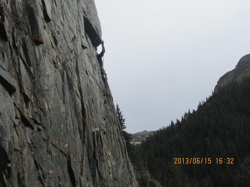Rock Climbing Photo: The last clip.