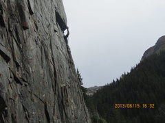 Rock Climbing Photo: The last clip.