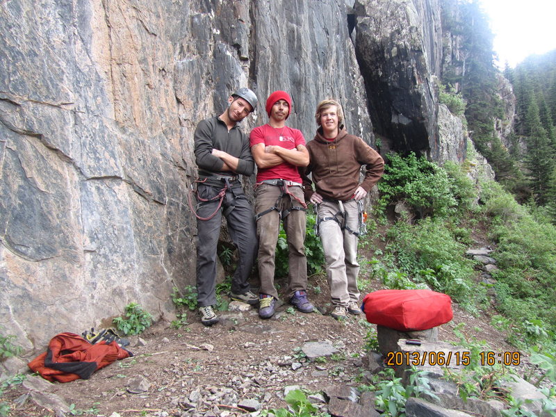 Rock Climbing Photo: Great hang, great climbs, great friends.