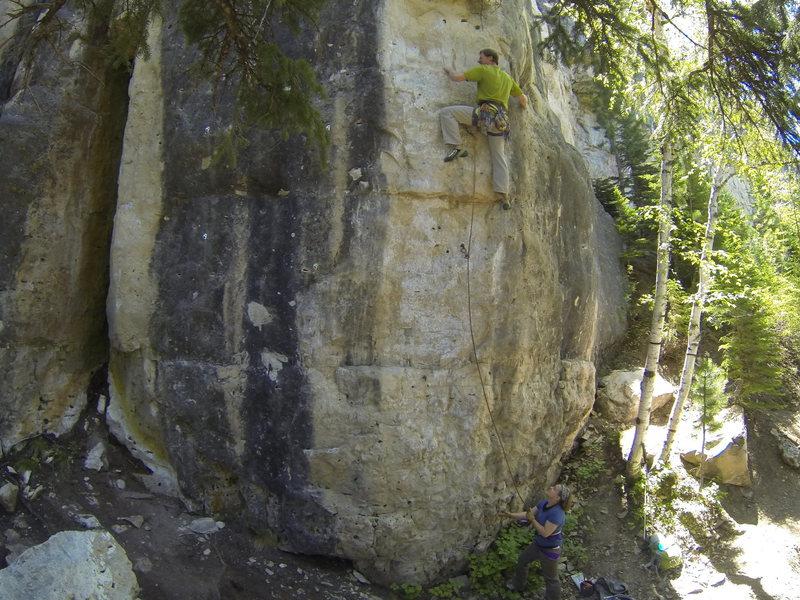 Rock Climbing Photo: Jackalope, 5.11c