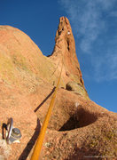 Rock Climbing Photo: Montezuma's spectacular North Ridge.