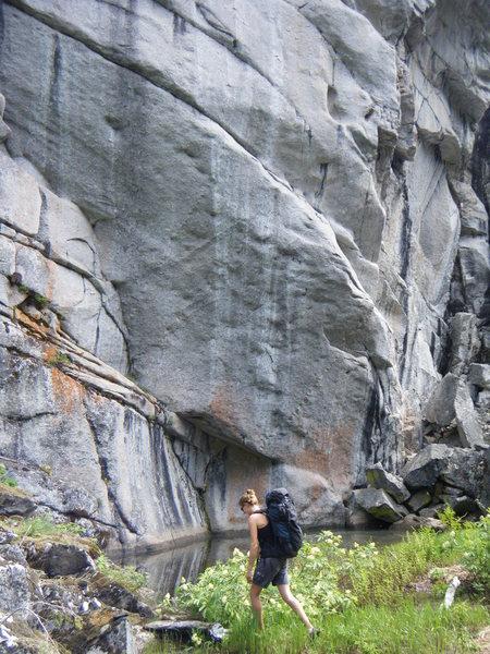 Rock Climbing Photo: wall 01