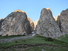 Rock Climbing Photo: The Central Bastion is on the right of the main ca...