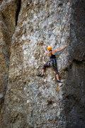 Rock Climbing Photo: Economique, at Wheeler Gorge. (June 16, 2013)
