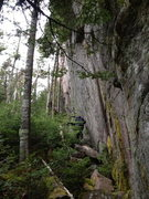 Rock Climbing Photo: Tiger Wall lower section