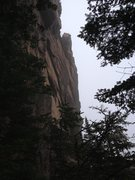 Rock Climbing Photo: Tiger Wall upper section