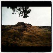 Rock Climbing Photo: iron horse 12a, blue sky, iron horse wall