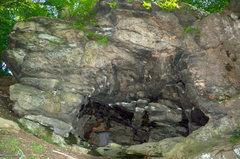 Rock Climbing Photo: The Woodstock Cave.