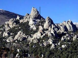View of Castle Rocks