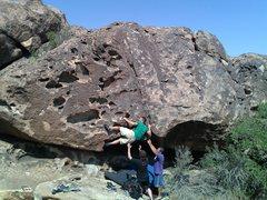 Rock Climbing Photo: Baby Morgue Climber: Jason