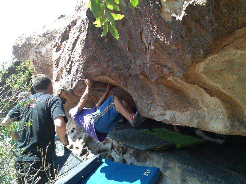 Rock Climbing Photo: Baby Morgue