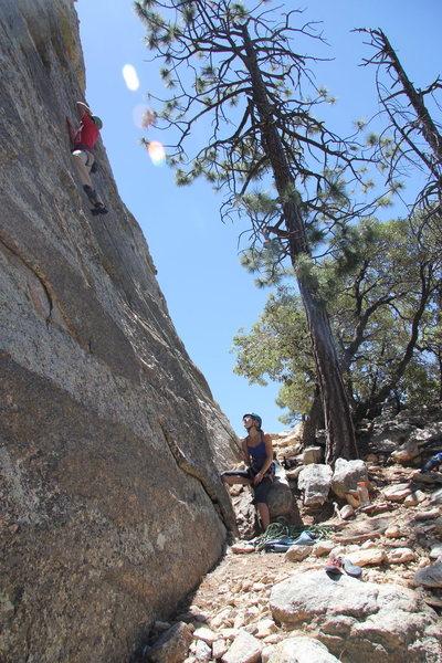 Rock Climbing Photo: In Lightning (May 2013)