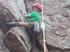 Rock Climbing Photo: And Does It Again!