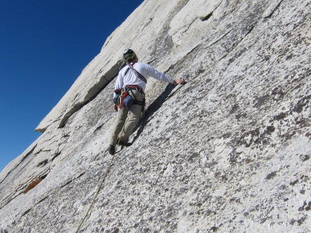 Rock Climbing Photo: Cathedral Peak, Tuolumne Meadows, CA