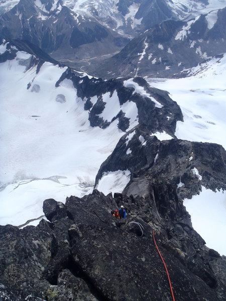 Rock Climbing Photo: The Black Friar, Revelstoke, Canada.