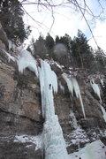 Rock Climbing Photo: The Rigid Designator, Vail, Colorado.