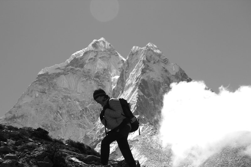 Sylvie Pinchon, Ama Dablam, Khumbu Region, Nepal.