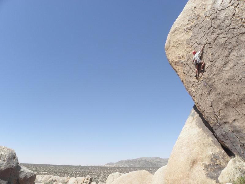 Rock Climbing Photo: Kenton Card on Wild Dream