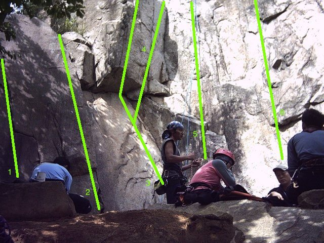 Rock Climbing Photo: The 5.10 crack is #1