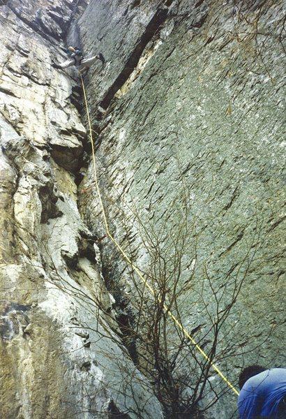 Rock Climbing Photo: Triple S at Seneca