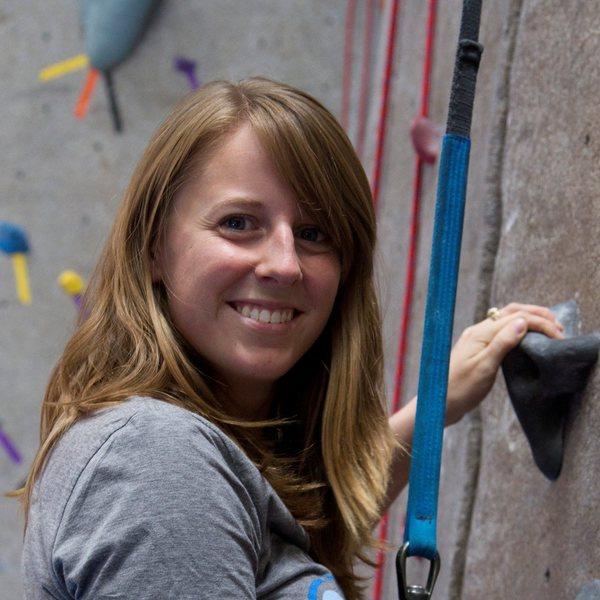 Rock Climbing Photo: me climbing @ the BRC