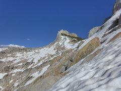Rock Climbing Photo: Matthes descent conditions, 16 June 2013