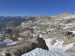 Rock Climbing Photo: Matthes descent conditions 2, 16 June 2013