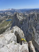 Rock Climbing Photo: Matthes conditions 2 (with Ryan from Boulder), 16 ...
