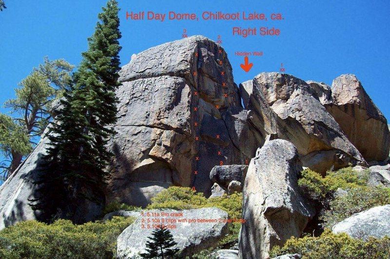 Rock Climbing Photo: Half Day Dome