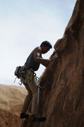 Rock Climbing Photo: Alan on Grahambo.