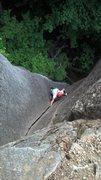 Rock Climbing Photo: Josh on Senior Citizens in Space (5.8).