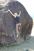 Rock Climbing Photo: Bouldering in a tiny village in Achham, Far Wester...