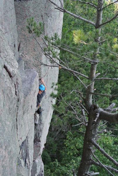 Photo 2 of Doug leading Stuck Knee 6-16-13.