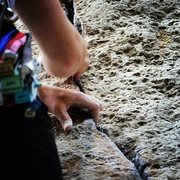 Rock Climbing Photo: Lovely crack