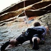 Rock Climbing Photo: Lovin it