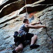 Rock Climbing Photo: Pull