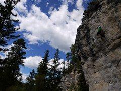 Rock Climbing Photo: Superb climb.  ce on tubular