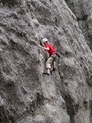 Rock Climbing Photo: ce on the cruxy early moves.