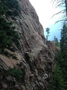 """Rock Climbing Photo: """"Chalk Dust Torture"""" and """"Black and..."""