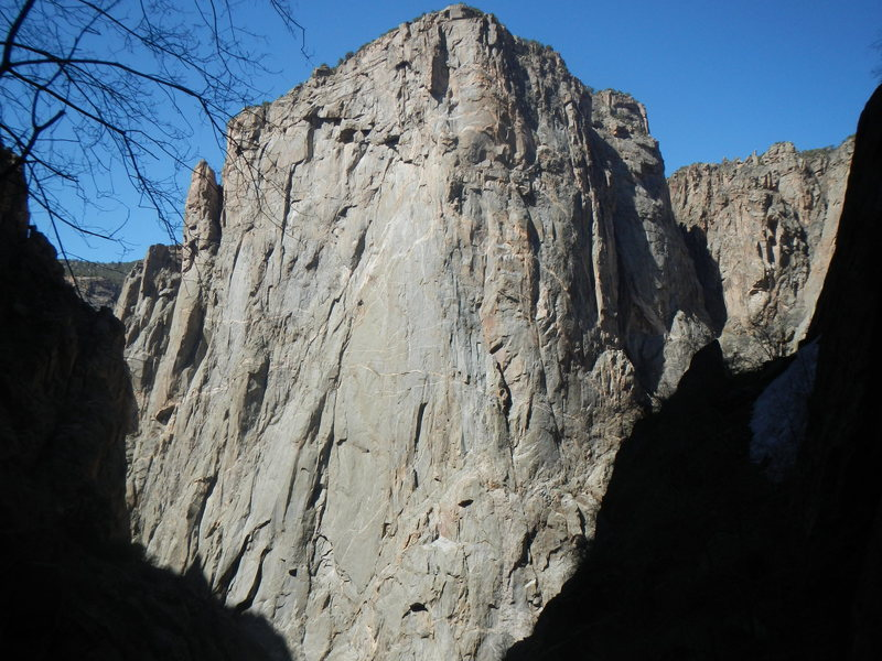 "North Chasm View Wall from ""BlackJack""."