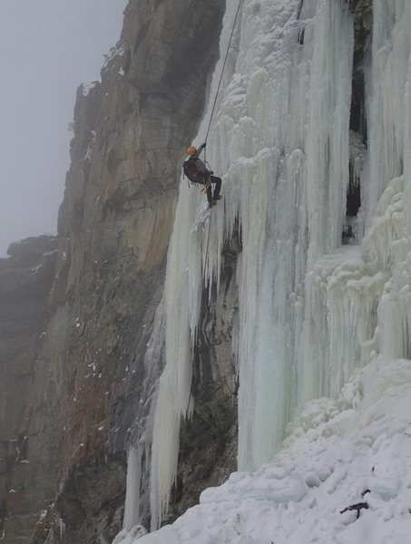 Rock Climbing Photo: McLaughlin Ice - January 2013