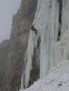 Rock Climbing Photo: McLaughlin Ice - January 2013