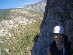 Rock Climbing Photo: Psych is high on Lover's Leap