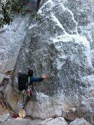 Rock Climbing Photo: Hugging El Cap. Finally made it!
