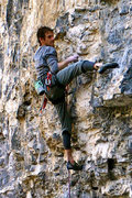 Rock Climbing Photo: me feeling confident...