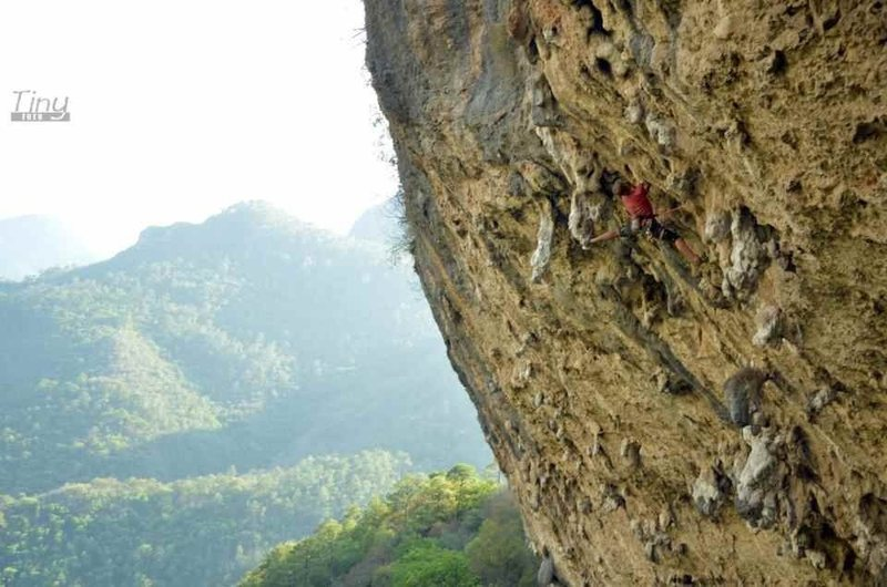 Rock Climbing Photo: Another photo of the first ascent