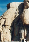 Rock Climbing Photo: A crappy scan of a pic from an early 90's trip.