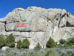 Rock Climbing Photo: The location of Built for comfort, muffin top, and...